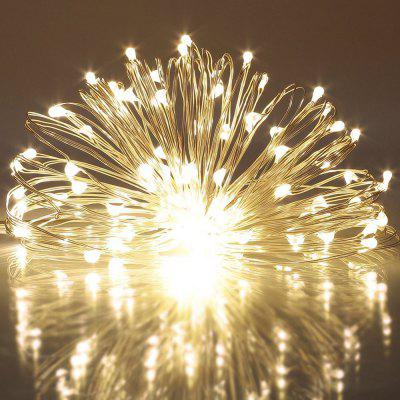 String Light for Patio Micro 50 Warm White Ray LED 4.5V 5M