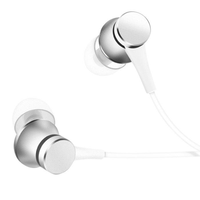 Original Xiaomi Piston In Ear Earphones Fresh Version - Silver