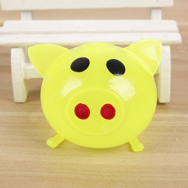 Jumbo Squishy Pig Style Silicone Vent Toy 1PC