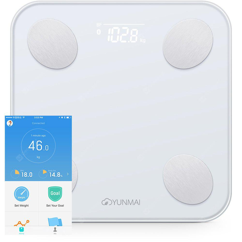 YUNMAI Mini 2 Balance Smart Body Fat Scale van Xiaomi - WIT