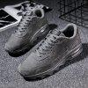 Male Ultralight Soft Air Cushion Athletic Shoes - GRAY