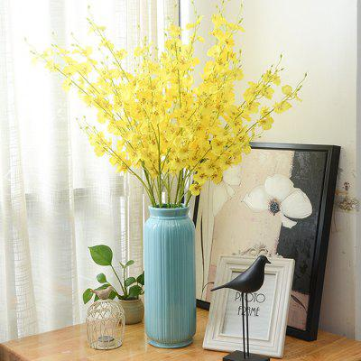 Modern Artificial Dancing Orchids for Table Decor 10PCS
