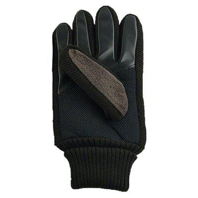 Men Leather Touch Screen Windproof GlovesMens Gloves<br>Men Leather Touch Screen Windproof Gloves<br><br>Gender: For Men<br>Material: Leather<br>Package Contents: 1 x Pair of Gloves<br>Package size (L x W x H): 10.00 x 8.00 x 2.00 cm / 3.94 x 3.15 x 0.79 inches<br>Package weight: 0.2200 kg<br>Pattern Type: Others<br>Product weight: 0.2000 kg<br>Style: Fashion