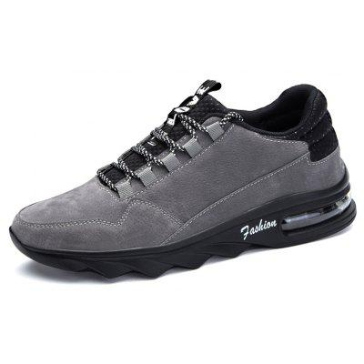 Male Ultralight Soft Blade-sole Air Cushion Athletic ShoesAthletic Shoes<br>Male Ultralight Soft Blade-sole Air Cushion Athletic Shoes<br><br>Closure Type: Lace-Up<br>Contents: 1 x Pair of Shoes, 1 x Box<br>Decoration: Split Joint<br>Function: Puncture Resistant, Slip Resistant<br>Materials: Leather, PU<br>Occasion: Sports, Shopping, Running, Casual, Daily, Holiday, Outdoor Clothing, Riding<br>Outsole Material: PU<br>Package Size ( L x W x H ): 31.00 x 20.00 x 13.00 cm / 12.2 x 7.87 x 5.12 inches<br>Package Weights: 0.80kg<br>Seasons: Autumn,Spring<br>Style: Modern, Leisure, Fashion, Comfortable, Casual<br>Toe Shape: Round Toe<br>Type: Sports Shoes<br>Upper Material: Leather