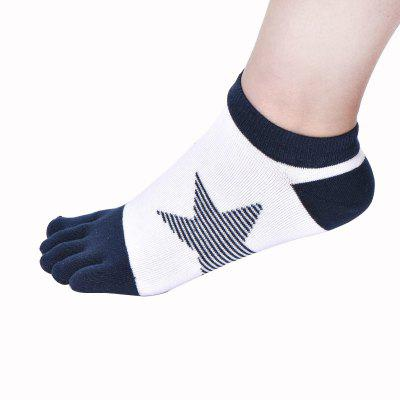Trendy Breathable Men Toe SocksMens Socks<br>Trendy Breathable Men Toe Socks<br><br>Contents: 1 x Pair of Socks<br>Gender: Men<br>Material: Spandex, Polyester, Cotton<br>Package size (L x W x H): 10.00 x 8.00 x 2.00 cm / 3.94 x 3.15 x 0.79 inches<br>Package weight: 0.0500 kg<br>Product weight: 0.0300 kg<br>Style: Fashion<br>Type: Socks