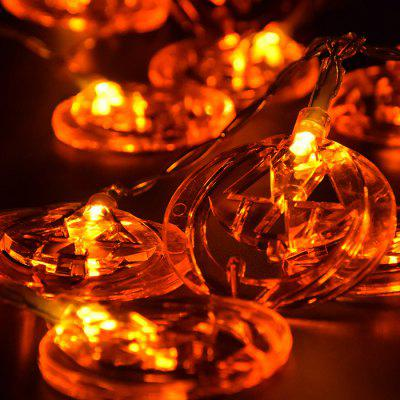 LED Halloween Decorative Pumpkin Shape String Lights
