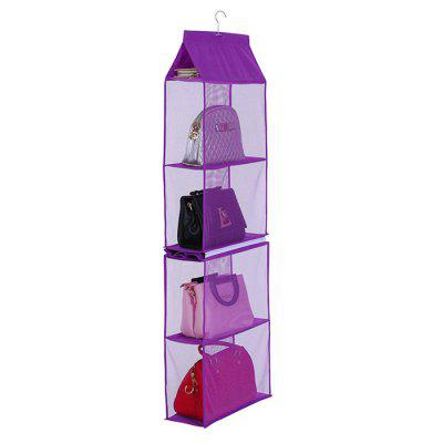 Heavy Duty Collapsible Four-layer Hanging Storage Rack