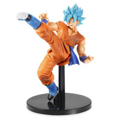 Blue Hair Wukong Model Character Toy 232602401