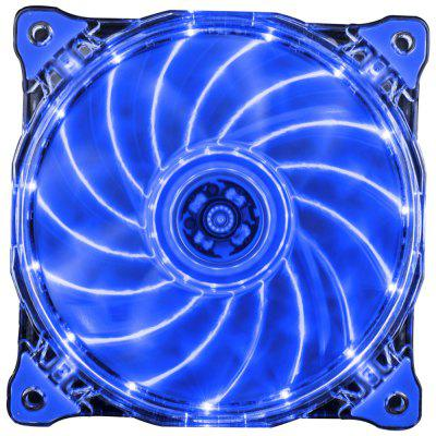 Ventilateur 1STPLAYER Fire Ring 15 LED Ventilateur Silencieux
