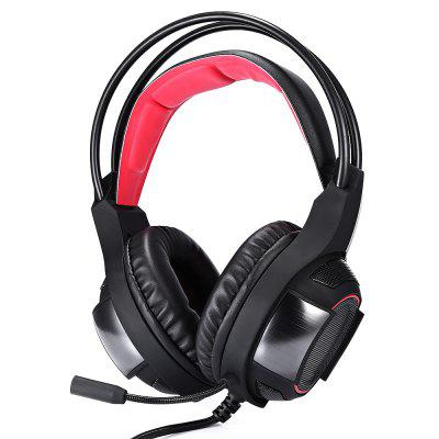 HS021 Wired Adjustable Foldable Over-ear Headphone