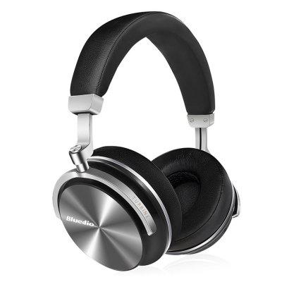 Bluedio T4S Noise Cancelling Bluetooth HeadphonesEarbud Headphones<br>Bluedio T4S Noise Cancelling Bluetooth Headphones<br><br>Application: Sport<br>Battery Type: Built-in<br>Battery Types: 600mAh Li-ion Battery<br>Bluetooth: Yes<br>Bluetooth distance: W/O obstacles 10m<br>Bluetooth mode: Headset<br>Bluetooth protocol: A2DP,AVRCP,HFP,HSP<br>Bluetooth Version: V4.2<br>Brand: Bluedio<br>Cable Length (m): 1.5 m<br>Charging Time.: 1.5h<br>Compatible with: Mobile phone, Computer<br>Connecting interface: Type-C, 3.5mm<br>Connectivity: Wired and Wireless<br>Driver type: Dynamic<br>Driver unit: 57mm<br>Features: Active Noise-cancelling, Extra Bass<br>FM radio: No<br>Frequency response: 15Hz~25KHz<br>Function: Microphone, Bluetooth, Answering Phone, HiFi, Song Switching, Voice control, Voice Prompt, Noise Cancelling<br>Impedance: 16ohms<br>Language: Chinese,English,French,Spanish<br>Material: Metal<br>Model: T4S<br>Music Time: 16h<br>Package Contents: 1 x Bluetooth Headset, 1 x Audio Cable, 1 x USB Charging Cable, 1 x Headset Bag, 1 x English User Manual<br>Package size (L x W x H): 20.70 x 24.00 x 6.80 cm / 8.15 x 9.45 x 2.68 inches<br>Package weight: 0.9480 kg<br>Plug Type: USB Type-C, 3.5mm<br>Product size (L x W x H): 18.80 x 9.00 x 20.80 cm / 7.4 x 3.54 x 8.19 inches<br>Product weight: 0.3340 kg<br>Sensitivity: 116dB<br>Standby time: 650h<br>Talk time: 16h<br>Type: Over-ear<br>Wearing type: Headband