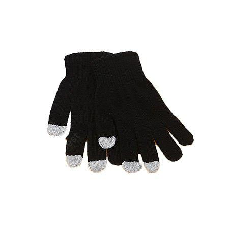 Contracted Keep Warm Thicken Knitted Gloves for Women