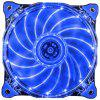 1STPLAYER Fire Ring 15 LEDs Silent Cooling Case Fan
