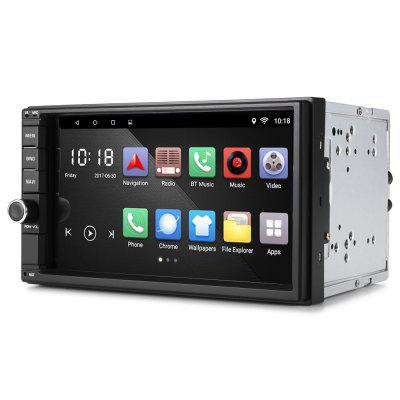 RM - CT0012 Android 6.0 Bluetooth GPS Stereo Car PlayerCar DVD Player<br>RM - CT0012 Android 6.0 Bluetooth GPS Stereo Car Player<br><br>CPU Main Freq.: 1.2GHz<br>Display Ratio: 16:9<br>FLASH (internal storage): 16GB<br>Installation Site: Car Console<br>Material: Electronic Components<br>Media Format: AVI, MOV, MP3, MP4, ASF, FLV, MPEG, RM, RMVB, VOB, WMV, MKV<br>Model: RM - CT0012<br>OSD Language: Chinese,English,French,German,Italian,Russian,Spanish<br>Package Contents: 1 x Car Player, 1 x GPS Module, 1 x Adapter Cable, 1 x English Manual, 1 x Remote Control, 1 x Plastic Bracket, 2 x Metal Bracket, 4 x Screw, 1 x Ring Nut, 1 x WiFi Antenna<br>Package size (L x W x H): 16.50 x 22.50 x 19.50 cm / 6.5 x 8.86 x 7.68 inches<br>Package weight: 1.4810 kg<br>Pre-loaded Maps: No<br>Product size (L x W x H): 18.00 x 14.80 x 10.30 cm / 7.09 x 5.83 x 4.06 inches<br>Product weight: 1.0000 kg<br>Radio Chips: TEF6686<br>RAM (memory): DDR3 2GB<br>Screen resolution: 1024 x 600<br>Screen size: 7inch<br>Screen type: Digital touch screen<br>Type: 2-DIN