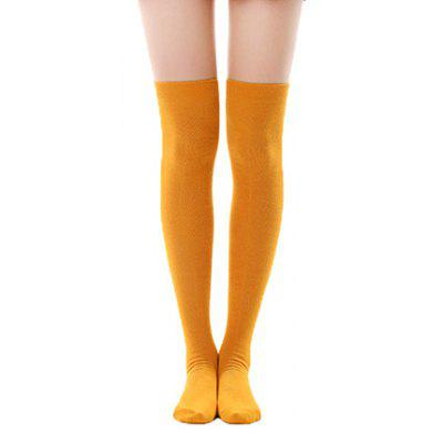 Women Trendy Breathable Pure Color Stockings