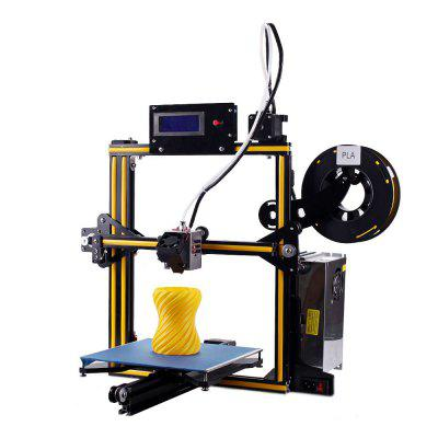 ZONESTAR Z5 - ZSD Aluminum Alloy Frame DIY 3D Printer Kit - US YELLOW