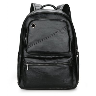 FEIDIKABOLO Men Trendy PU Backpack