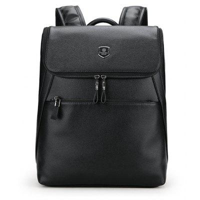 FEIDIKABOLO Men Business PU Backpack