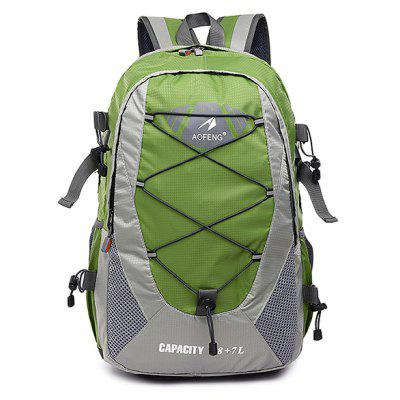 Buy GREEN Men Lightweight Water-resistant Canvas Sports Backpack for $37.38 in GearBest store