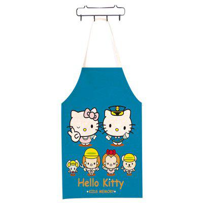 Cartoon Characters Printed Apron Creative Kitchen Tool