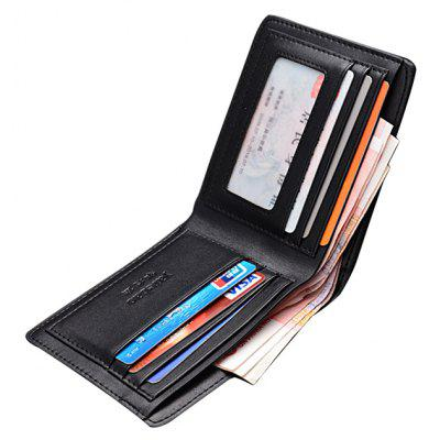 Men Stylish PU Bifold WalletWallets<br>Men Stylish PU Bifold Wallet<br><br>Features: Wearable<br>For: Daily Use<br>Gender: Men<br>Material: PU<br>Package Size(L x W x H): 13.00 x 3.00 x 11.00 cm / 5.12 x 1.18 x 4.33 inches<br>Package weight: 0.1200 kg<br>Packing List: 1 x Wallet<br>Product Size(L x W x H): 12.00 x 2.00 x 10.00 cm / 4.72 x 0.79 x 3.94 inches<br>Product weight: 0.1000 kg<br>Style: Fashion, Casual<br>Type: Wallet