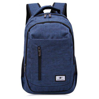 Buy BLUE Men Stylish Nylon Laptop Backpack for $20.37 in GearBest store