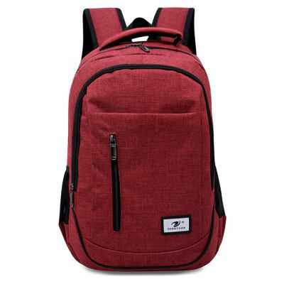 Buy RED Men Stylish Nylon Laptop Backpack for $20.37 in GearBest store