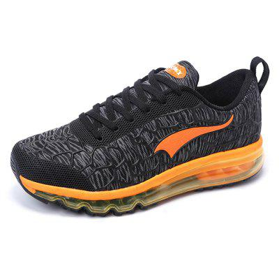 ONEMIX Men Ultralight Air Cushion Couple Athletic ShoesAthletic Shoes<br>ONEMIX Men Ultralight Air Cushion Couple Athletic Shoes<br><br>Brand: ONEMIX<br>Closure Type: Lace-Up<br>Contents: 1 x Pair of Shoes, 1 x Box<br>Function: Slip Resistant<br>Materials: MD, Mesh, Rubber, KPU<br>Occasion: Sports, Shopping, Running, Riding, Party, Outdoor Clothing, Holiday, Daily, Casual<br>Outsole Material: MD,Rubber<br>Package Size ( L x W x H ): 33.00 x 21.00 x 12.00 cm / 12.99 x 8.27 x 4.72 inches<br>Package Weights: 1.12kg<br>Seasons: Autumn,Spring,Summer<br>Style: Modern, Leisure, Fashion, Comfortable, Casual<br>Toe Shape: Round Toe<br>Type: Sports Shoes<br>Upper Material: KPU,Mesh