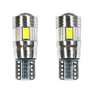 T10 12V 3W 6500K LED Turn Signal / Clearance Lamp 2pcs