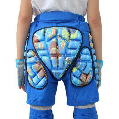 Anti-slip Short Pants Cushioning Pad Hip Protector