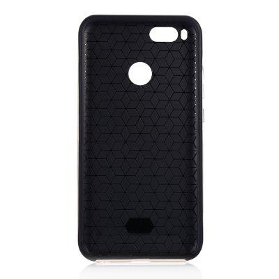 Luanke TPU + PC Frame Phone Case Cover for Xiaomi Mi A1Cases &amp; Leather<br>Luanke TPU + PC Frame Phone Case Cover for Xiaomi Mi A1<br><br>Brand: Luanke<br>Compatible Model: Mi A1<br>Features: Back Cover<br>Mainly Compatible with: Xiaomi<br>Material: TPU, PC<br>Package Contents: 1 x Protective Case<br>Package size (L x W x H): 20.00 x 12.00 x 2.00 cm / 7.87 x 4.72 x 0.79 inches<br>Package weight: 0.0400 kg<br>Product Size(L x W x H): 16.00 x 8.00 x 1.00 cm / 6.3 x 3.15 x 0.39 inches<br>Product weight: 0.0350 kg