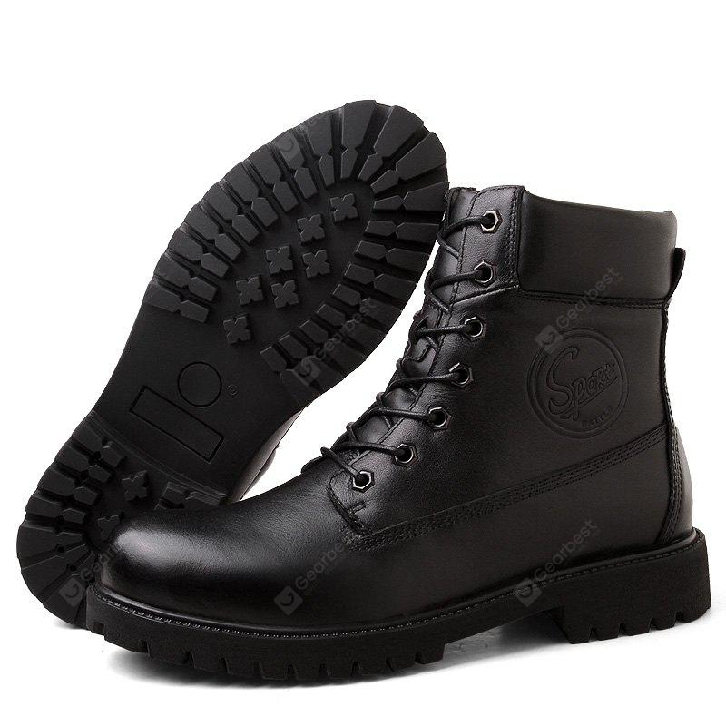Male Classic Soft Outdoor Warmest High-top Boots
