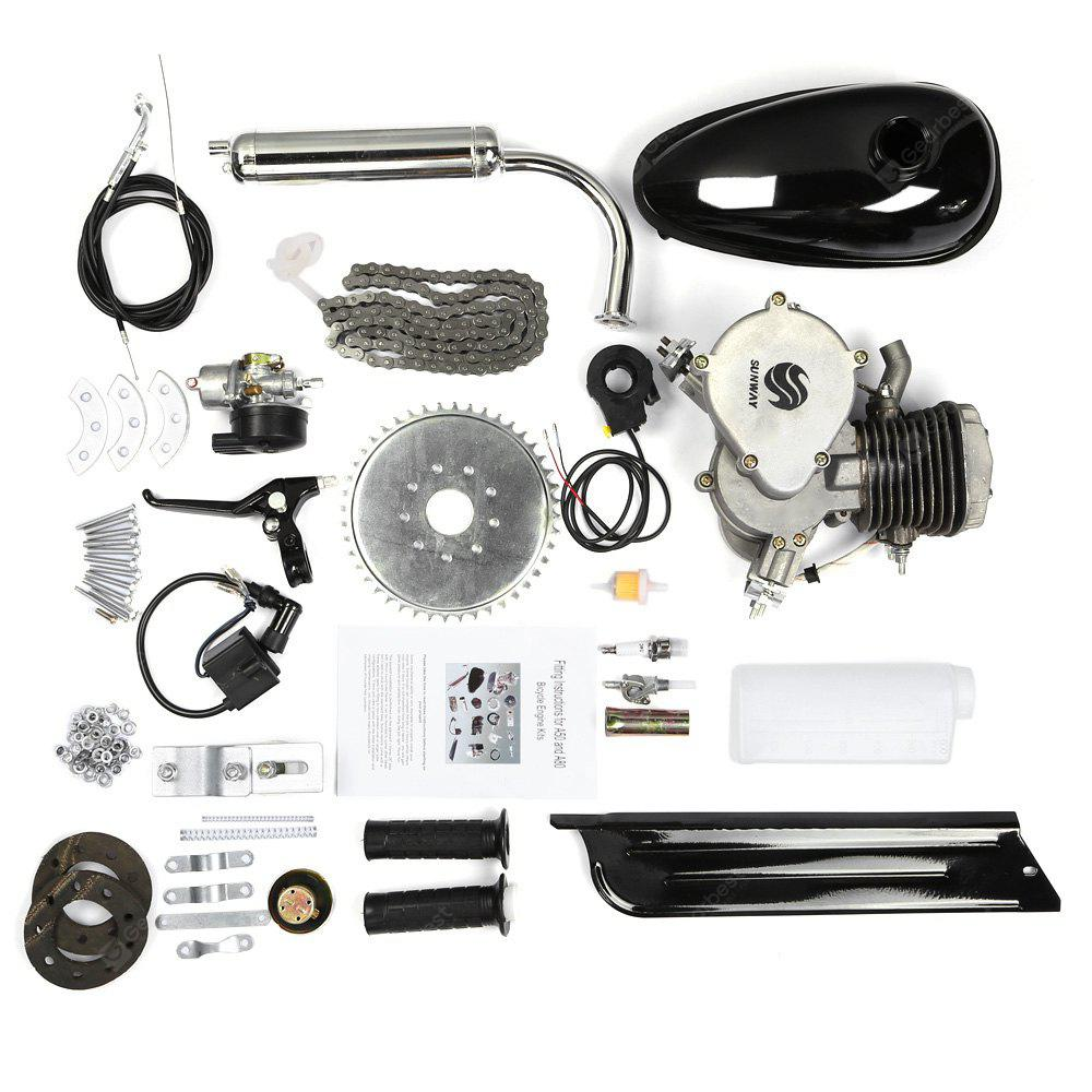 Image result for 80cc 2-ventpipe Cycle Motorized Bike Black Body Engine Motor Kit