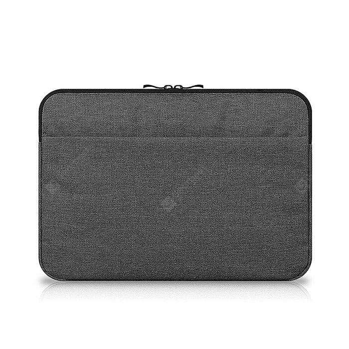 Canvas 11 inch Water-resistant Laptop Sleeve Protective Bag DEEP GRAY