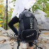 Outdoor Splicing Lightweight Backpack - BLACK