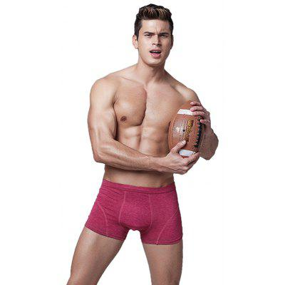 Male Pure Color Antibiosis Breathable BoxersMens Underwear &amp; Pajamas<br>Male Pure Color Antibiosis Breathable Boxers<br><br>Package Contents: 1 x Boxers<br>Package size: 10.00 x 8.00 x 2.00 cm / 3.94 x 3.15 x 0.79 inches<br>Package weight: 0.0700 kg<br>Product weight: 0.0500 kg