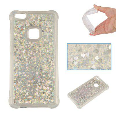 Glitter Powder Drop Resistance Cover Case for HUAWEI P10 Lite