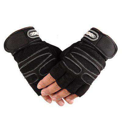 CTSmart 015 Pair of Half-finger Unisex Gloves