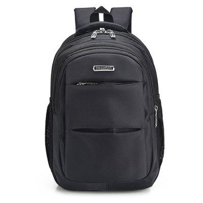 Business Nylon Water-resistant Laptop Backpack
