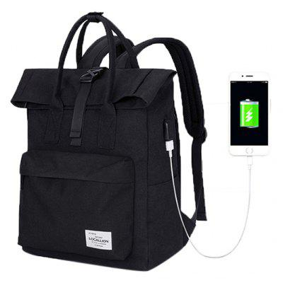 LOCAL LION Anti-theft Laptop Backpack with USB Port
