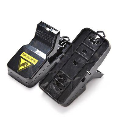 Safety Mouse Trap Effective Rodents Rat Catcher 2PCSPest Control<br>Safety Mouse Trap Effective Rodents Rat Catcher 2PCS<br><br>Available Color: Black<br>Functions: Others<br>Material: ABS<br>Package Contents: 2 x Mouse Trap<br>Package size (L x W x H): 16.00 x 15.00 x 7.00 cm / 6.3 x 5.91 x 2.76 inches<br>Package weight: 0.1100 kg<br>Product size (L x W x H): 11.00 x 7.00 x 5.00 cm / 4.33 x 2.76 x 1.97 inches<br>Product weight: 0.0960 kg<br>Types: Mousetrap