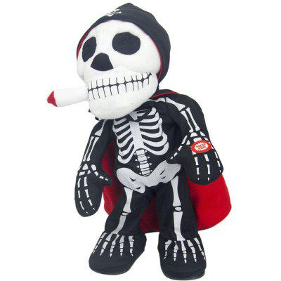 Spoof Skull Soft Dancing Toy