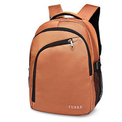 Buy ORANGE Minimalist Durable Water-resistant Nylon Laptop Backpack for $28.37 in GearBest store