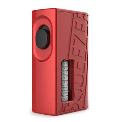Hugo Vapor Squeezer BF Squonk Mechanical Box Mod for E Cigarette 100% original asvape cobra sub ohm tank atomizer 3 8ml capacity 0 5 ohm coil head fit 510 thread mod battery e cigarette vape