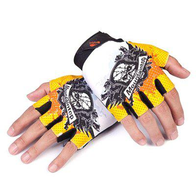 CTSmart 018 Pair of Half-finger Unisex Gloves