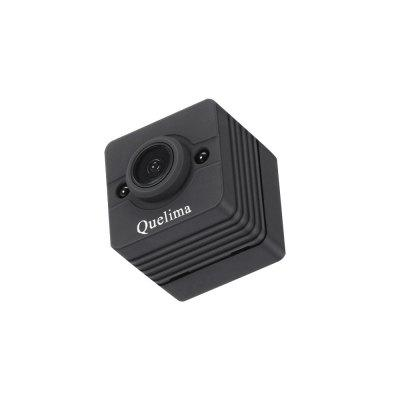 Quelima SQ12 Mini 1080P FHD DVRCar DVR<br>Quelima SQ12 Mini 1080P FHD DVR<br><br>Anti-shake: No<br>Aperture Range: f2.5<br>Apply To Car Brand: Universal<br>Audio System: Built-in microphone/speacker (AAC)<br>Battery Capacity (mAh?: 200mAh<br>Battery Charging Time: 2H<br>Battery Type: Built-in<br>Brand: Quelima<br>Camera Pixel: 1.2MP<br>Charge way: Car charger<br>Chipset: Generalplus1248<br>Chipset Name: Generalplus<br>Class Rating Requirements: Class 10 or Above<br>Decode Format: H.264<br>Delay Shutdown: No<br>Features: Full HD, Mini<br>Function: Night Vision, Motion Detection, Loop-cycle Recording<br>GPS: No<br>Image Format: JPEG<br>Image resolution: 12M (4032 x 3024)<br>Image Sensor: CMOS<br>Interface Type: Mini USB, TF Card Slot<br>ISO: Auto<br>Lens Size: 2.33MM<br>Loop-cycle Recording: Yes<br>Loop-cycle Recording Time: 5min<br>Max External Card Supported: TF 32G (not included)<br>Model: SQ12<br>Motion Detection: Yes<br>Motion Detection Distance: 2 - 3M<br>Night vision: Yes<br>Night Vision Distance: 3 - 5m<br>Operating Temp.: 10 - 50 Deg.C<br>Package Contents: 1 x SQ12 Car DVR, 1 x USB Cable, 1 x Holder, 1 x Clip, 1 x English Instruction<br>Package size (L x W x H): 14.00 x 9.00 x 6.00 cm / 5.51 x 3.54 x 2.36 inches<br>Package weight: 0.0830 kg<br>Parking Monitoring: No<br>Power Cable Length: 60cm<br>Product size (L x W x H): 2.20 x 2.24 x 2.20 cm / 0.87 x 0.88 x 0.87 inches<br>Product weight: 0.0160 kg<br>Type: Full HD Dashcam, Mini DVR<br>Video format: AVI<br>Video Frame Rate: 30fps<br>Video Output: Mini 8 pin USB<br>Video Resolution: 1080P (1920 x 1080),720P (1280 x 720)<br>Waterproof: No<br>Waterproof Rating: 0<br>Wide Angle: 155 degree wide angle<br>WIFI: No<br>Working Time: 60mins<br>Working Voltage: 3.7V