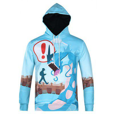 Mr 1991 INC Miss Go Cute Cartoon Sudadera con capucha