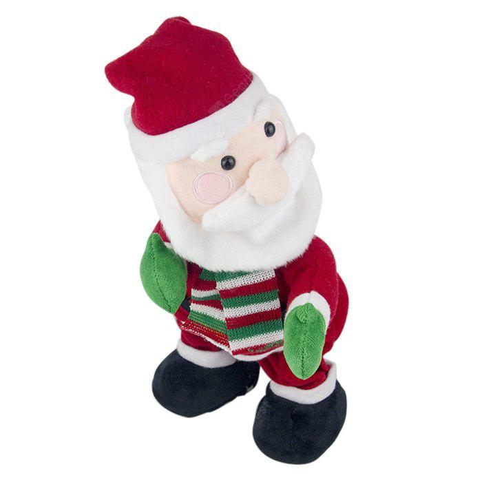 Dancing Santa Claus Style Soft Plush Toy