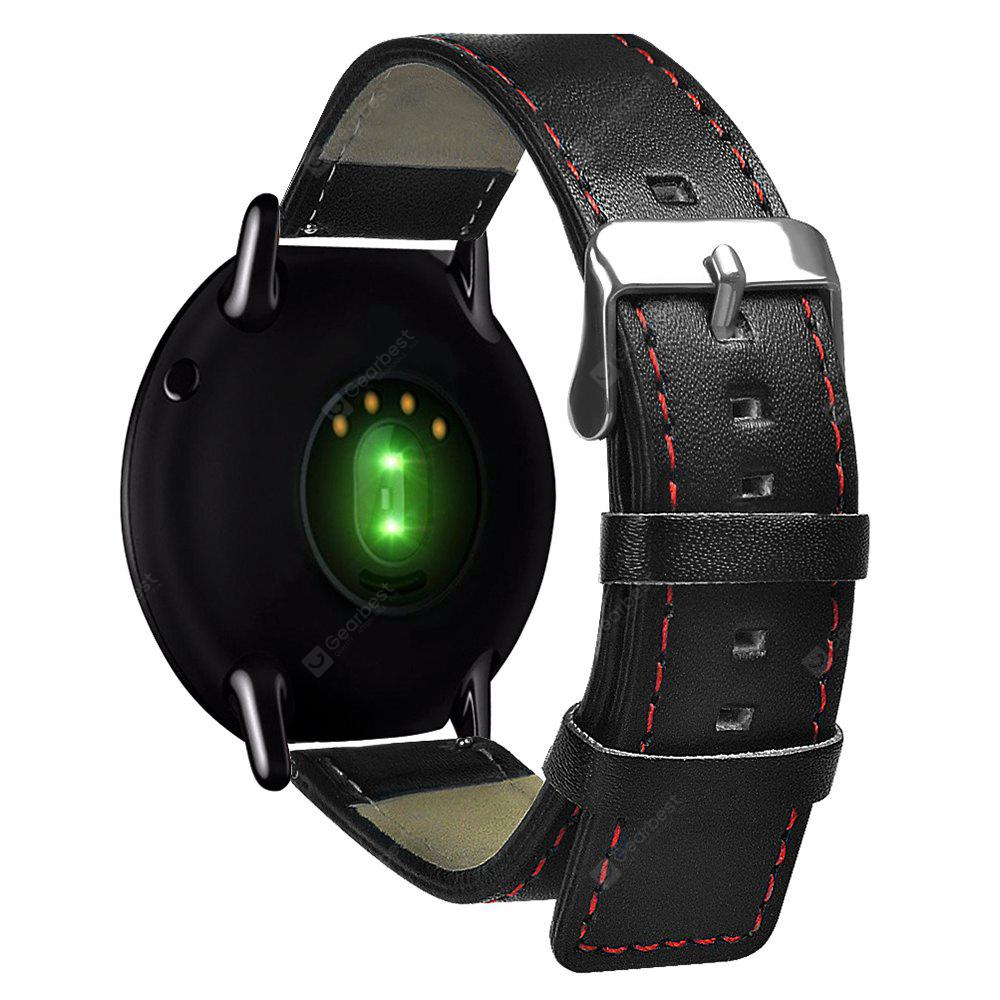 22mm Leather Strap for HUAMI Amazfit Smartwatch