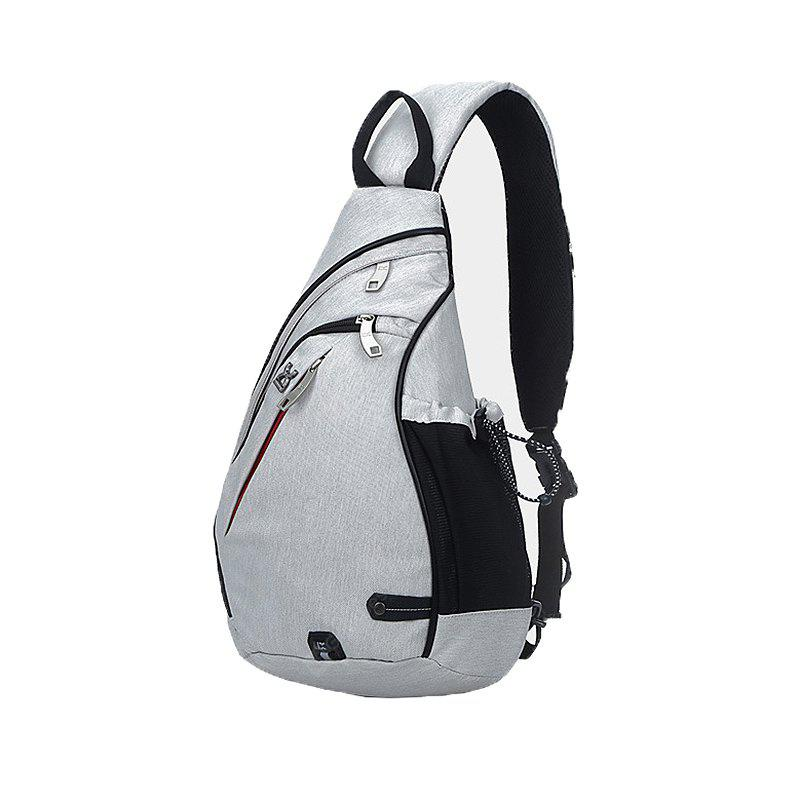 HYD1886 Multifunctional Large Capacity Male Chest Bag
